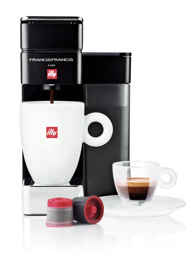 illy Francis Francis Y5 DUO espresso & filter coffee maker ...